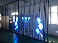Outdoor Transparent Led Display 1000*1000mm brightness 4500cd/sqm See Through Led Display 70% Transparency