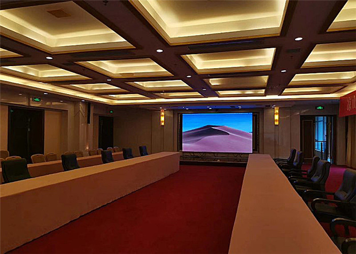 Intensive Design Indoor Fixed LED Display With First Class LED Chip IP30 Grade