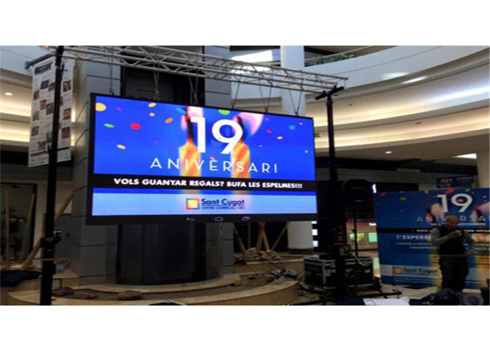 Silent Design Indoor Rental LED Display AVOE LED P2.976mm 500mmx500mm Die-casting Aluminum Cabinet